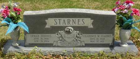 ADKINS STARNES, ERMAN - Mississippi County, Arkansas   ERMAN ADKINS STARNES - Arkansas Gravestone Photos