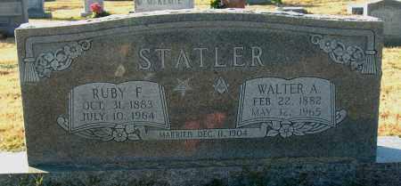 STATLER, WALTER A - Mississippi County, Arkansas | WALTER A STATLER - Arkansas Gravestone Photos