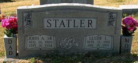 STATLER, SR, JOHN A - Mississippi County, Arkansas | JOHN A STATLER, SR - Arkansas Gravestone Photos