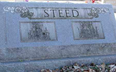 STEED, JOHN J. - Mississippi County, Arkansas | JOHN J. STEED - Arkansas Gravestone Photos