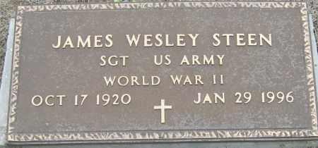 STEEN (VETERAN WWII), JAMES WESLEY - Mississippi County, Arkansas | JAMES WESLEY STEEN (VETERAN WWII) - Arkansas Gravestone Photos