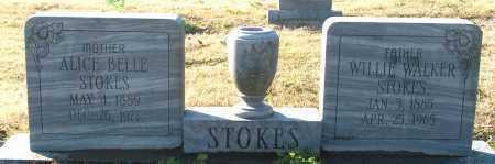STOKES, ALLICE BELLE - Mississippi County, Arkansas | ALLICE BELLE STOKES - Arkansas Gravestone Photos