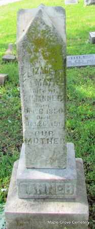 TANNER, ELIZABETH MAY - Mississippi County, Arkansas | ELIZABETH MAY TANNER - Arkansas Gravestone Photos