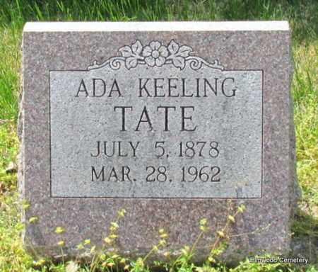 TATE, ADA - Mississippi County, Arkansas   ADA TATE - Arkansas Gravestone Photos