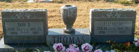 THOMAS, DON D - Mississippi County, Arkansas | DON D THOMAS - Arkansas Gravestone Photos