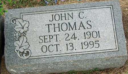 THOMAS, JOHN C - Mississippi County, Arkansas | JOHN C THOMAS - Arkansas Gravestone Photos