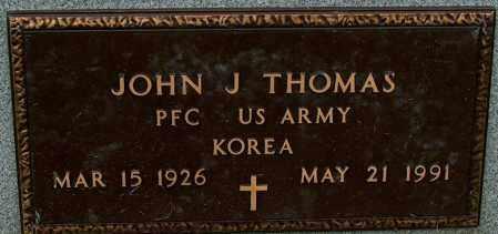 THOMAS (VETERAN KOR), JOHN J - Mississippi County, Arkansas   JOHN J THOMAS (VETERAN KOR) - Arkansas Gravestone Photos