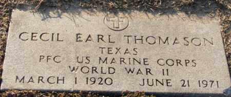 THOMASON (VETERAN WWII), CECIL EARL - Mississippi County, Arkansas   CECIL EARL THOMASON (VETERAN WWII) - Arkansas Gravestone Photos