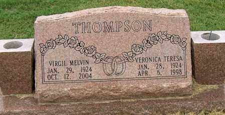THOMPSON, VIRGIL MELVIN - Mississippi County, Arkansas | VIRGIL MELVIN THOMPSON - Arkansas Gravestone Photos
