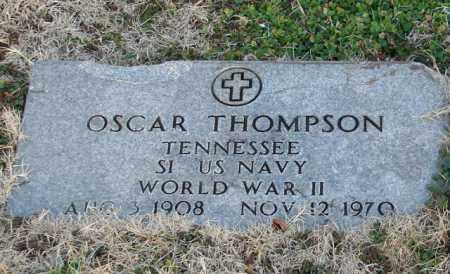 THOMPSON (VETERAN WWII), OSCAR - Mississippi County, Arkansas   OSCAR THOMPSON (VETERAN WWII) - Arkansas Gravestone Photos