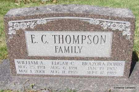 THOMPSON, WILLIAM A - Mississippi County, Arkansas   WILLIAM A THOMPSON - Arkansas Gravestone Photos