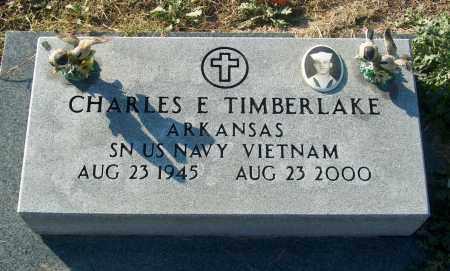 TIMBERLAKE (VETERAN VIET), CHARLES E - Mississippi County, Arkansas | CHARLES E TIMBERLAKE (VETERAN VIET) - Arkansas Gravestone Photos