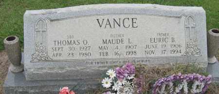 VANCE, MAUDE L - Mississippi County, Arkansas | MAUDE L VANCE - Arkansas Gravestone Photos