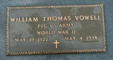 VOWELL (VETERAN WWII), WILLIAM THOMAS - Mississippi County, Arkansas | WILLIAM THOMAS VOWELL (VETERAN WWII) - Arkansas Gravestone Photos