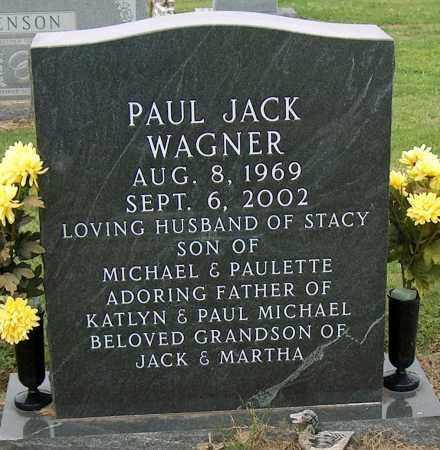 WAGNER, PAUL JACK - Mississippi County, Arkansas | PAUL JACK WAGNER - Arkansas Gravestone Photos