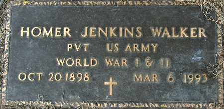 WALKER (VETERAN 2 WARS), HOMER JENKINS - Mississippi County, Arkansas | HOMER JENKINS WALKER (VETERAN 2 WARS) - Arkansas Gravestone Photos