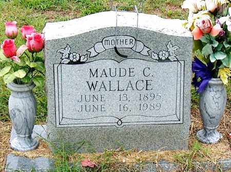 WALLACE, MAUDE C - Mississippi County, Arkansas   MAUDE C WALLACE - Arkansas Gravestone Photos