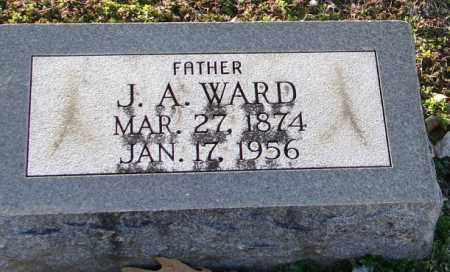 WARD, J. A. - Mississippi County, Arkansas   J. A. WARD - Arkansas Gravestone Photos