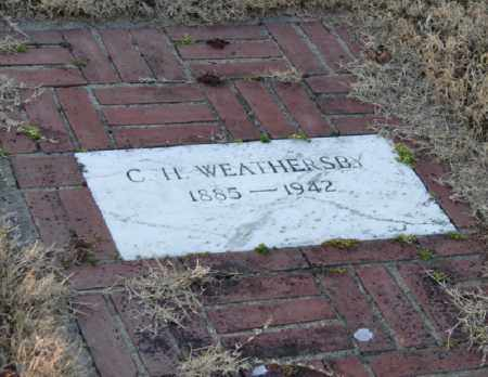 WEATHERSBY, C. H. - Mississippi County, Arkansas   C. H. WEATHERSBY - Arkansas Gravestone Photos