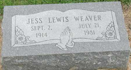 WEAVER, JESS LEWIS - Mississippi County, Arkansas | JESS LEWIS WEAVER - Arkansas Gravestone Photos