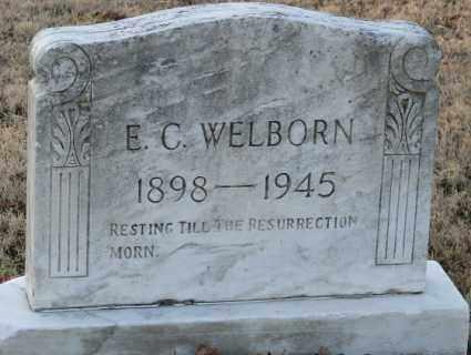 WELBORN, E. C. - Mississippi County, Arkansas | E. C. WELBORN - Arkansas Gravestone Photos