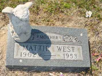 WEST, MATTIE - Mississippi County, Arkansas   MATTIE WEST - Arkansas Gravestone Photos
