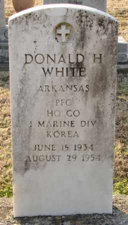 WHITE (VETERAN KOR), DONALD H - Mississippi County, Arkansas   DONALD H WHITE (VETERAN KOR) - Arkansas Gravestone Photos