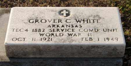 WHITE (VETERAN WWII), GROVER C - Mississippi County, Arkansas | GROVER C WHITE (VETERAN WWII) - Arkansas Gravestone Photos