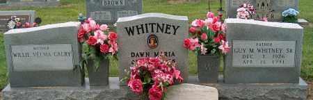 WHITNEY, SR., GUY M - Mississippi County, Arkansas   GUY M WHITNEY, SR. - Arkansas Gravestone Photos