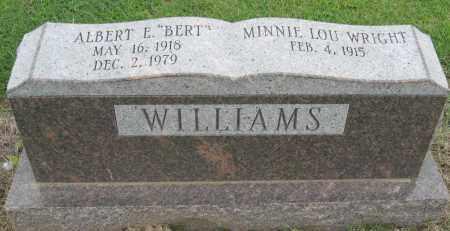 WILLIAMS, ALBERT E - Mississippi County, Arkansas | ALBERT E WILLIAMS - Arkansas Gravestone Photos