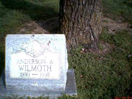 WILMOTH, ANDERSON A. - Mississippi County, Arkansas | ANDERSON A. WILMOTH - Arkansas Gravestone Photos