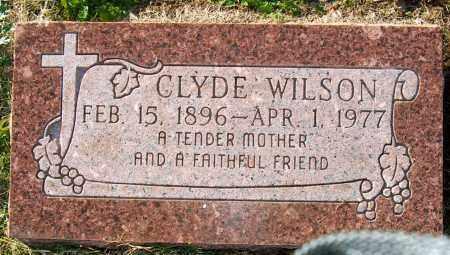 WILSON, CLYDE - Mississippi County, Arkansas | CLYDE WILSON - Arkansas Gravestone Photos