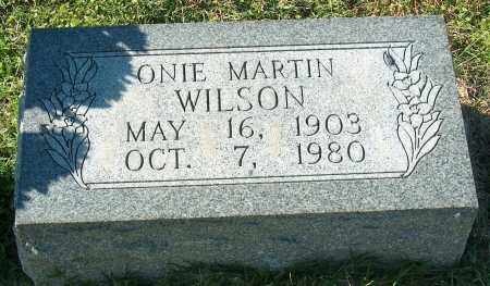 WILSON, ONIE - Mississippi County, Arkansas | ONIE WILSON - Arkansas Gravestone Photos