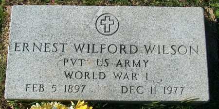 WILSON (VETERAN WWI), ERNEST WILFORD - Mississippi County, Arkansas   ERNEST WILFORD WILSON (VETERAN WWI) - Arkansas Gravestone Photos