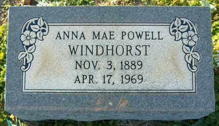 WINDHORST, ANNA MAE - Mississippi County, Arkansas | ANNA MAE WINDHORST - Arkansas Gravestone Photos