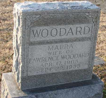 WOODARD, MAPRA - Mississippi County, Arkansas   MAPRA WOODARD - Arkansas Gravestone Photos