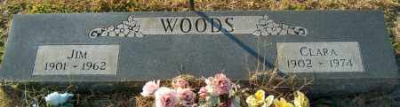 WOODS, CLARA - Mississippi County, Arkansas | CLARA WOODS - Arkansas Gravestone Photos
