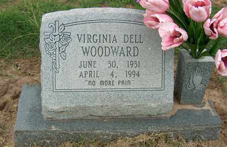 WOODWARD, VIRGINIA DELL - Mississippi County, Arkansas | VIRGINIA DELL WOODWARD - Arkansas Gravestone Photos