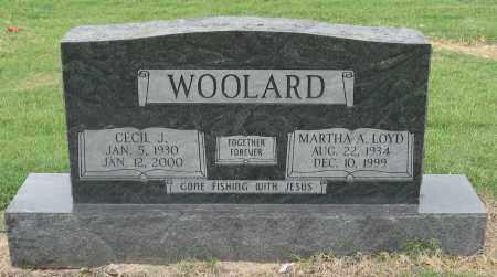 WOOLARD, MARTHA A. - Mississippi County, Arkansas | MARTHA A. WOOLARD - Arkansas Gravestone Photos