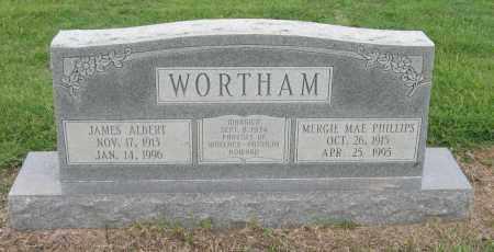 WORTHAM, JAMES ALBERT - Mississippi County, Arkansas | JAMES ALBERT WORTHAM - Arkansas Gravestone Photos