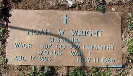 WRIGHT (VETERAN WWI), NOAH W - Mississippi County, Arkansas   NOAH W WRIGHT (VETERAN WWI) - Arkansas Gravestone Photos
