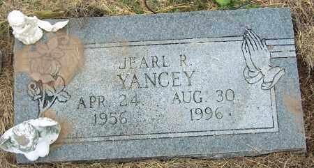 YANCEY, JEARL R - Mississippi County, Arkansas | JEARL R YANCEY - Arkansas Gravestone Photos