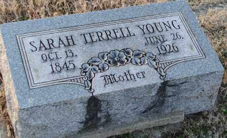 TERRELL YOUNG, SARAH - Mississippi County, Arkansas | SARAH TERRELL YOUNG - Arkansas Gravestone Photos
