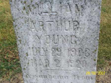 YOUNG, WILLIAM ARTHUR - Mississippi County, Arkansas | WILLIAM ARTHUR YOUNG - Arkansas Gravestone Photos