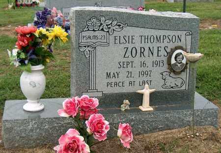 ZORNES, ELSIE - Mississippi County, Arkansas | ELSIE ZORNES - Arkansas Gravestone Photos