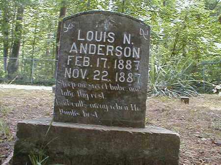 ANDERSON, LOUIS - Monroe County, Arkansas | LOUIS ANDERSON - Arkansas Gravestone Photos