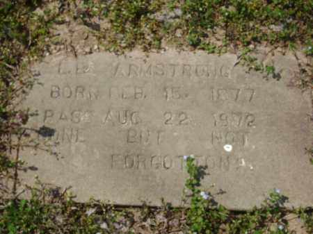 ARMSTRONG, L. B. - Monroe County, Arkansas | L. B. ARMSTRONG - Arkansas Gravestone Photos