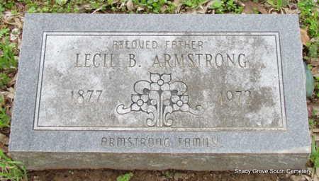 ARMSTRONG, LECIL B. - Monroe County, Arkansas   LECIL B. ARMSTRONG - Arkansas Gravestone Photos