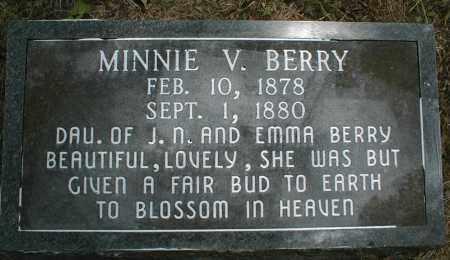 BERRY, MINNIE - Monroe County, Arkansas   MINNIE BERRY - Arkansas Gravestone Photos