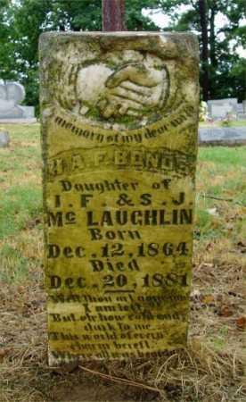 MCLAUGHLIN BONDS, H A F - Monroe County, Arkansas | H A F MCLAUGHLIN BONDS - Arkansas Gravestone Photos